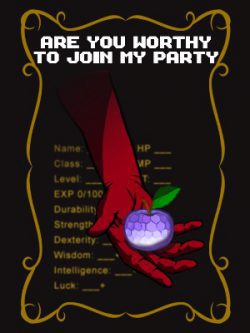 Are You Worthy to Join My Party