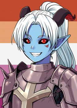 The Lesbian Demon Lord Conquers the World!