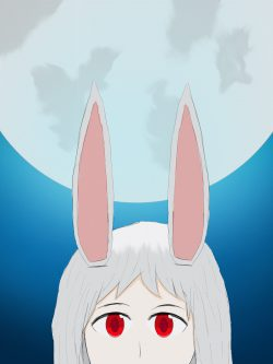 Bunny Under the Moonlight