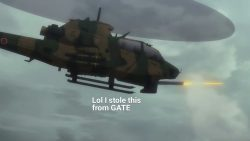 I, who identified as an Attack Helicopter as a joke, reincarnated as one.