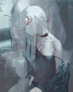 My Psychotic Ghost Girlfriend an Isekai Experiment Gone Wrong